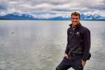 2014년 12월 칠레 파타고니아에서 PhD 리서치를 위해 등반 중인 제임스 후퍼