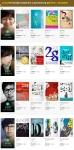 예스24 한국 소설의 미래가 될 젊은 작가 투표 결과