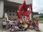 동명대-부산로봇산업협회 과학탐방 모습