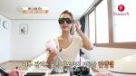 가수 지나가 화장대를 부탁해에서오로라IPL 피부관리기를 소개했다 (사진제공: 오로라에스)