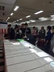 일본 씨엔디라이텍 관계자들 및 루미시트 제품들