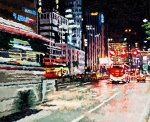 비오는 광화문1 Oil on canvas 65x53cm 2015