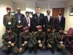 런던경찰청에서 작전참모부장과 ADP 치안지원대원들