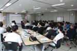 한국보건복지인력개발원이 사회복무요원 출신 김지백 전문강사의 특별 강의를 실시했다