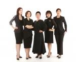 도제학교를 이끄는 여성 대표 5인(왼쪽부터 서수진, 남선경, 이선옥, 김현진, 박혜림 대표)