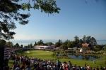 에비앙 리조트 골프 클럽의 18번 홀 전경 (카피라이트- RolexChris Turvey)