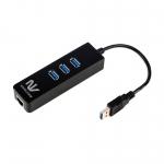 노벨뷰, 기가 랜카드와 USB 3.0 포트를 합친 올인원 허브 NBN337 출시