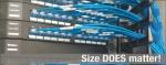 일반 24-AWG 코드에 비해 상당히 작은 크기로 팬듀이트의 28-AWG 케이블링 시스템은 용량증가, 케이블 관리 개선 및 운영/자본 비용 절감으로 공간 제약 문제를 해결한다.