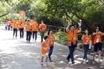 한화그룹은 지난 9월 12일, 임직원 및 가족과 일반 시민 등 300여명이 참여한 가운데 걸으며 기부하는 한화 워킹포어스 행사를 남산 둘레길에서 진행했다 (사진제공: 한화)