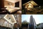 야놀자 프랜차이즈 에이치에비뉴 녹번점 외관, 로비, 객실, 글램핑 시설