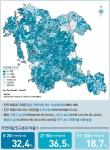 충남연구원이 창간한 충남 정책지도에 소개된 도내 자연마을 인구 현황