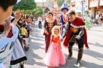 한국메이크어위시재단이 5세 소아암 환아 김연우 양을 위한 공주 퍼레이드를 펼쳤다