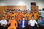 김현미 국회의원이 24일 일산소방서를 방문해 소방공무원 및 의무소방대원의 노고를 격려했다