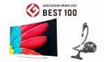 LG전자 전략 제품들이 일본 최고 권위의 굿 디자인 상을 대거 수상하며 글로벌 디자인 리더십을 입증했다. 사진은 Best 100 design으로 선정된 울트라 올레드 TV와 코드제로 싸이킹