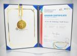 비센의 멜리본 벌독 마스크팩이 2015대전세계양봉대회 WBA 아피몬디아 콘테스트서 금상을 수상했다