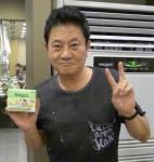 배우 박준규가 MBC 월화드라마 화정 종방연 파티에서 전체 스태프 및 연기자들에게 한국코와 주식회사의 카베2코와과립을 선물했다