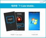 테르텐이 모바일 가상화 화면 보안 솔루션인 T-Cube 모바일 버전을 출시했다.