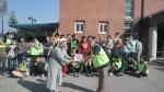 지난 3일 원앤원 임직원들이 성가원을 방문해 봉사활동을 펼쳤다