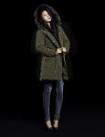 버커루는 계절에 맞춰 입을 수 있는 디테처블 스타일의 여성용 프리미엄 야상 점퍼를 출시했다