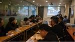 지난 12일 중국 북경연수단이 원할머니보쌈족발 본가에서 사업설명회를 열고 회사소개 및 질의응답시간을 가졌다