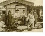 서울로 압송 중인 전봉준. 1895년 4월 24일 의금부에서 교수형에 처해졌다. 당시 전봉준의 나이는 향년 41세였다.