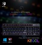로이체가 청축 기계식 키보드 XECRET K800L를 출시했다