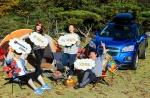 쉐보레, 제9회 RV 패밀리 오토캠핑 개최1, 2: 글로벌 브랜드 쉐보레(Chevrolet)가 400여명이 참여한 가운데 경기도 양평수목원 오토캠핑장에서 '제 9회 쉐보레 RV 패밀리 오토캠핑'을 개최했다. 사진은 쉐보레 RV 패밀리 오토캠핑에 참가한 한 가족이 즐거운 시간을 보내고 있는 장면.