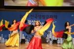 24일 서울 강북구 북서울꿈의 숲에서 열린 2015전국생활문화제에 참가한 동호회 '카밀라 폴 앤 밸리댄스' 팀이 열정적인 공연을 펼치고 있다.