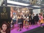 MCC 코스메틱이 10월 16일에서 19일 말레이시아 쿠알라룸푸르에서 열린 뷰티엑스포에 프리미엄 스폰서 브랜드로 참가했다