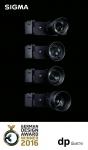 시그마 dp Quattro 시리즈 카메라가 독일 디자인 어워드 2016에서 Excellent Product Design Entertainment category Winner Award를 수상했다