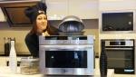 LG전자가 조리시간과 에너지 사용량을 줄인 스피드 오븐 플러스(Speed Oven+)를 출시해 유럽 오븐 시장 공략을 강화한다. LG전자 직원이 프랑스 파리에 위치한 쇼룸에서 스피드 오븐 플러스를 소개하고 있다.
