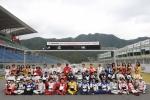 핸즈 모터스포츠 페스티벌 2015 선수 단체 사진