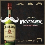 제임슨, 11월 한 달간 국내 최초 '모벰버' 캠페인 실시