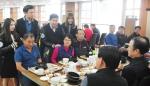 건국대 총학생회가 교내 관리직원 보은 행사를 열었다 (사진제공: 건국대학교)