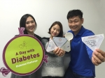 '당뇨병, 하루의 공감' 기부 캠페인