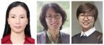 (왼쪽부터) WISET 올해의 멘토상 수상자 김미숙 ㈜아이비디티 수석연구원, 신외경 자동차부품연구원 센터장, 최윤아 넥슨컴퓨터박물관 관장