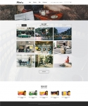 필름로그 홈페이지 메인 화면