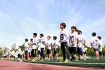 7월 11일에 개최되었던 제3회 전국 유소년플래그풋볼 대회 개회식 장면