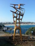 호주 본다이 해변조각전Sculpture by the Sea이 8일 성황리에 폐막했다