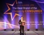2015 소비자의 선택 최고의 브랜드 대상을 수상한 서울디지털대학교의 안병수 대외협력처 처장