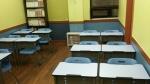 수출입은행의 후원으로 새롭게 된 누리다문화학교 교실