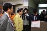 박인용 국민안전처장관이 요양병원 현장지도를 실시했다