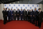 2015 파리방위산업전(Milipol Paris 2015)을 참관한 아랍 에미리트 내무부 대표단