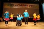 11월20일 순천문화예술회관 소극장에서 댄스팀 팝스타의 공연이 진행되고 있다