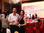 2015년 Chinese Dental Show에 참석한 매직키스치과 정유미원장(대한구강보건협회 국제이사)