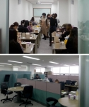 시니어 창업기업에 맞춤형 창업 지원서비스를 제공하는 종합 창업지원센터인 수원시 시니어기술창업센터가 확장 이전했다