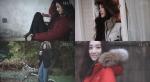 배우 정려원이 패션매거진 그라치아 화보를 통해 올 겨울 패딩 스타일을 선보였다