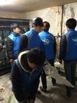 광주사회복무교육센터 재능나눔봉사동아리 '더 좋은 친구 하비'가 28일 사랑의 공부방 만들기 봉사활동을 진행했다. (사진제공: 한국보건복지인력개발원 사회복무교육본부)