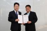 서울디지털대학교 정오영 총장(왼쪽)과 한국U러닝연합회 정현재 사무총장(오른쪽)