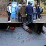 NGO 통일 좋아요가 성균관대 자연과학캠퍼스서 통일 좋아요 캠페인을 실시했다